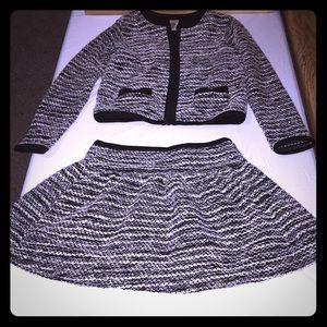 Gymboree Jacket & Skirt Set Size 8